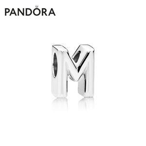 Pandora 925 Sterling Silve Signature Charm